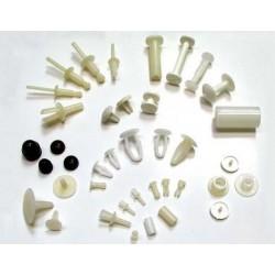 Tornillos Plásticos de Tapabarro
